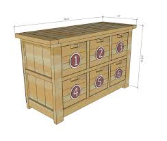 Big Lots Childrens Dressers by Ana White Dumpster Dresser From 2x4s Diy Projects