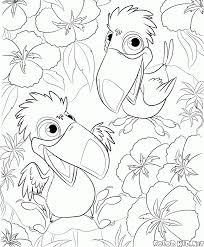 Unique Coloriage Toucan A Imprimer Imprimer Et Obtenir Une