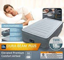 Aerobed With Headboard Twin by Aerobed Luxury 16 Inch Full Air Mattress With Built In Pump Ebay