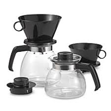 Melittareg Pour Over Coffee Makers With Glass Carafe