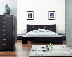 Bedroom New Style Design Black White Asian Themed Deco Double Designs Category With Post Charming