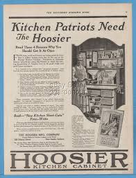 What Is A Hoosier Cabinet Worth by 1918 Hoosier Mfg Co New Castle Indiana Kitchen Cabinets Wwi
