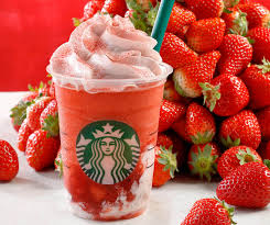 Starbucks Japan Release Strawberry FrappuccinoR STRAWBERRYVERYMUCHFRAPPUCCINOR