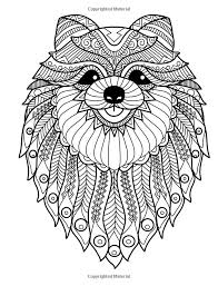 Doodle Dogs Coloring Books For Grownups Featuring Over 30 Stress Relieving Designs Volume