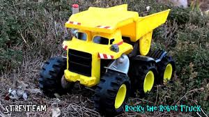 Rocky The Robot Truck - YouTube Matchbox Rocky The Robot Truck Sounds And Interactions Youtube 814pcs Double E C51014w 2 In 1 Rc Mixer Building Blocks Kits Does What Interactive By New Tobot Athlon Mini Rocky Transformer Excavator Car T Stinky Garbage Save 35 Today The Dump Toy Talking Mattel Pop Rides Deadpools Chimichanga Deadpool Catalog Funko 1903638801 Deluxe Walmartcom Paw Patrol Sea Light Up Teenage Mutant Ninja Turtles