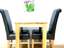 2 Person Kitchen Table Small Round For Two Dining Chair Set Ikea Seat