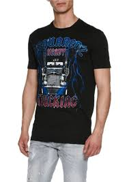 Dsquared2 Dsquared2 Heavy Metal Trucking T-Shirt Now $173.00 Texas Chrome Tshirts Shop Trucker Tshirts Andy Mullins Dsquared2 Heavy Metal Trucking Tshirt Now 17300 Toprun Truck From All Over The World Xclusive Cool Apparel Merchandise Truckin Adult Size Tiedye Tshirt Grateful Dead And Company Co Large Marge Co Pee Wees Big Adventure Parody We Design Custom Shirts I Work At Celadon Hoodie Tops T Shirt Mens Short Cotton Crew Neck Truck Driver Cotton Tshirt By Hirts Online Truklife Widowmaker Freight Inc King Unisex