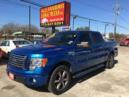99 Blue Ford Trucks ALEJANDRO CARS TRUCKS INC Used 2011 F150 For Sale In