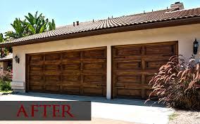 Painting Brown Garage Door White Wageuzi