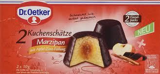dr oetker dr oetker fertiger kuchenschatz marzipan mit apfel zimt füllung 100 0 g