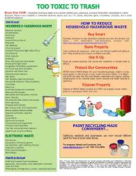exles of household hazardous waste city of norwalk ca