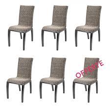 frais lot de 6 chaises legge biz