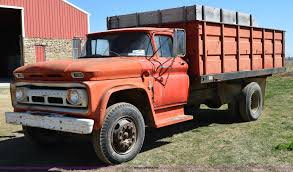 100 1963 Chevy Truck For Sale Chevrolet 60 Grain Truck Item K2475 SOLD April 29