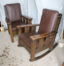 Bargain John's Antiques   Limbert Set - Mission Oak Rocking Chair ... Oak Rocking Chairs For Sale Celestetabora Shopping For The New York Times Solid Childs Rocking Chair In Cross Hills West Yorkshire Gumtree Amazoncom Fniture Of America Betty Chair Antique Plans Woodarchivist Folding 500lbs Camping Rocker Porch Outdoor Seat Wainscot Seating Beachcrest Home Ermera Reviews Wayfair X Rockers Murphys Panel Back Bent Wood Idaho Auction Barn Patio Depot