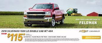 100 Used Trucks For Sale In Mi Chevrolet Dealer Highland MI Feldman Chevrolet Of Highland