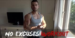 musculation sans matériel à la maison noexcuses workout