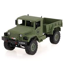 100 Rc Military Trucks Amazoncom Goolsky HENG LONG 3853A 116 24G 4WD OffRoad RC