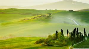 Tuscany Spring Landscape Wallpaper 1920x1080