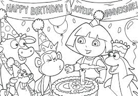 Dora Explorer Coloring Pages Games Online Game Thanksgiving The Free Full Size