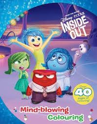 Disney Pixar Inside Out Colouring Book