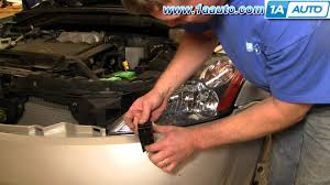 how to install replace headlight 03 07 nissan murano 1aauto