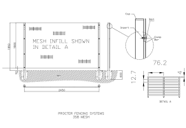 The Drawing Of Anti Climb Fence Installation Including Smart Expo Wire Wall Anti Climb Anti Cut Welded Security Fence