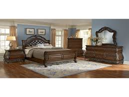 Value City Furniture Tufted Headboard by Bedroom Furniture Charleston Bay Black Ii King Storage Bed Clarion