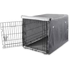 Petco Dog Beds by You U0026 Me Dog Crate Cover In Grey Petco