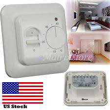 Easy Heat Warm Tiles Thermostat Programming by Floor Heating Thermostat Ebay