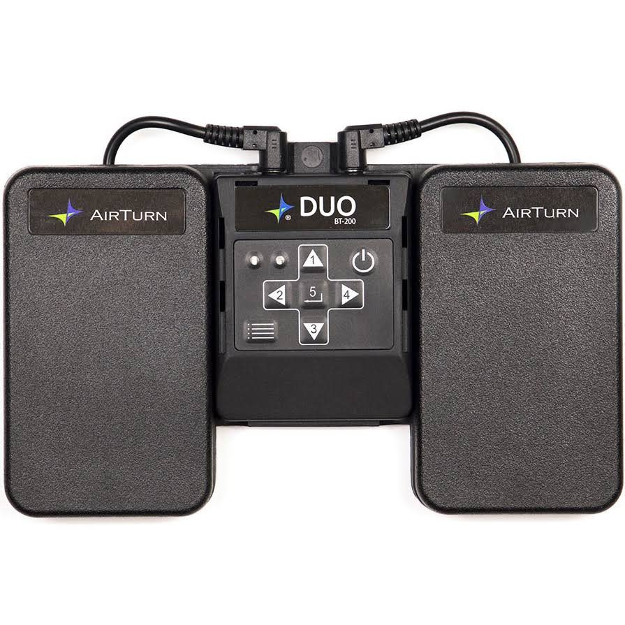 AirTurn Duo Wireless Bluetooth Foot Controller