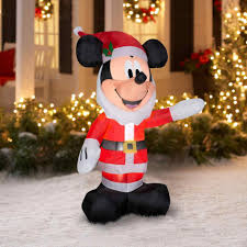 Mouse And Minnie Christmas Decorations Tree Mickey