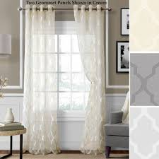 Curtains With Grommets Pattern by Sheer Curtains U0026 Window Treatments Touch Of Class
