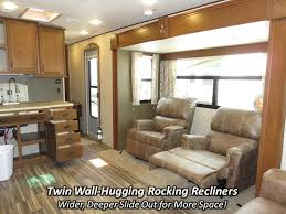 Fifth Wheel Campers With Front Living Rooms by 2017 Highland Ridge Rv Open Range Light 274rls Travel Trailer