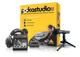 Podcast Setup Youtube Equipment Twitch Streaming Home Recording Mac Studio Mic
