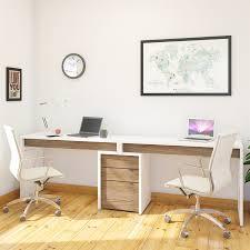 Bush Vantage Corner Desk Pure White by Shop Office Furniture At Lowes Com