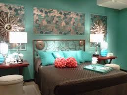 Incredible Green Beige Bedroom Ideas With Turquoise And Brown Pic
