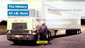The History Of J.B. Hunt Trucking - YouTube 5 Things You Need To Become A Truck Driver Success Family Comes First Father And Son Team Make Driving A Affair Sikh Truck Drivers Reach Discrimination Settlement With Jb Hunt Professional Institute Home Dcs Central Region November 2013 Trucking Life Still Hard Sell The Daily Gazette Drivejbhuntcom Learn About Military Programs Benefits At Page 1 Ckingtruth Forum 117 Best Images On Pinterest Classic Trucks Semi Transition Underway In Trucking Leadership Fleet Owner History Of Youtube J B Wikipedia