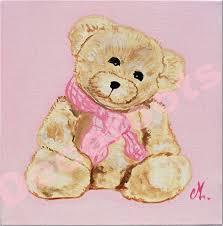 tableau ourson chambre bébé ordinaire tableau pour chambre bebe 1 tableau ourson tendresse