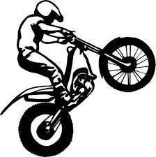 28 Collection Of Dirt Bike Wheelie Drawing