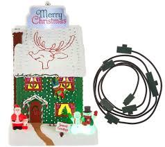 Qvc Christmas Trees Uk by Hallmark Keepsake Magic Holidayornament With Bonus Magic Cord