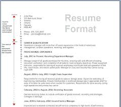 Sample Resume For Business Formatting Format And Maker Small