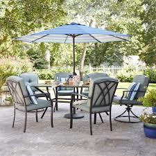 Patio Conversation Sets Canada by Garden Treasures Cascade Creek 7 Piece Dining Set Lowe U0027s Canada
