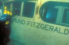Edmund Fitzgerald Sinking Cause by Sinking Theories