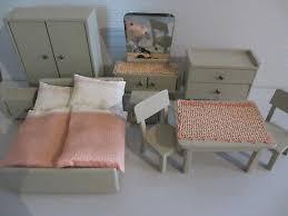 alte puppenstubenmöbel 50 60er j schlafzimmer tisch