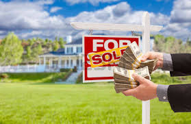 Man Handing Over Thousands Of Dollars In Front House And Sold For Sale Real Estate