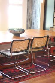 Christie Chase: #546...marcel Breuer Dining Chairs 1970s Vintage Marcel Breuer Cesca Style Chairs A Pair Set Of 4 Ding By Paxton Upholstered Cream And Nutmeg 2 Knoll Intertional Laccio Table 5 Ding Chairs For Gavina Italy 1996 State Breuerstyle Chair In Chocolate What A Room Two Toned Hide Contemporary Pretty Old X Chair Tecta 1930s 40087