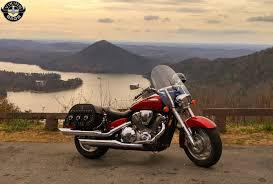 Honda VTX 1800 R Motorcycle Saddlebags Trianon Studded from Vikingbags