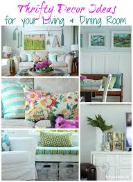 Thrifty Decor Ideas For Your Living Dining Room By The Happy Housie Lovely Etc