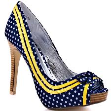 coverlook 4 navy polka dot shoes navy and navy shoes