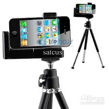Tripod Mount Holder Stand for IPhone Mobile Phone Camera Tripod
